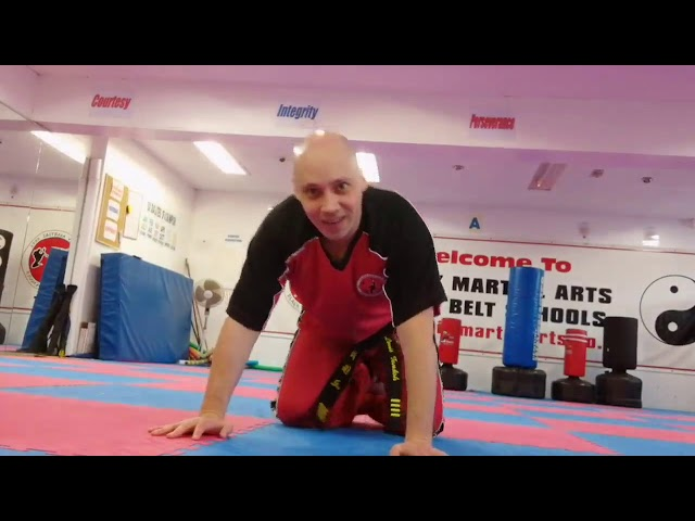 Mr Tandoh with a reply to Grandmaster Martin's post about creating interesting exercise combinations