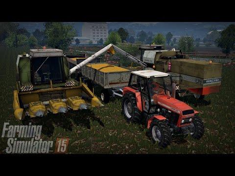 Gospodarstwo Rolne #7 ☆ Farming Simulator 15 Multiplayer - Slovakia Map ☆ QQrydza na ziarno