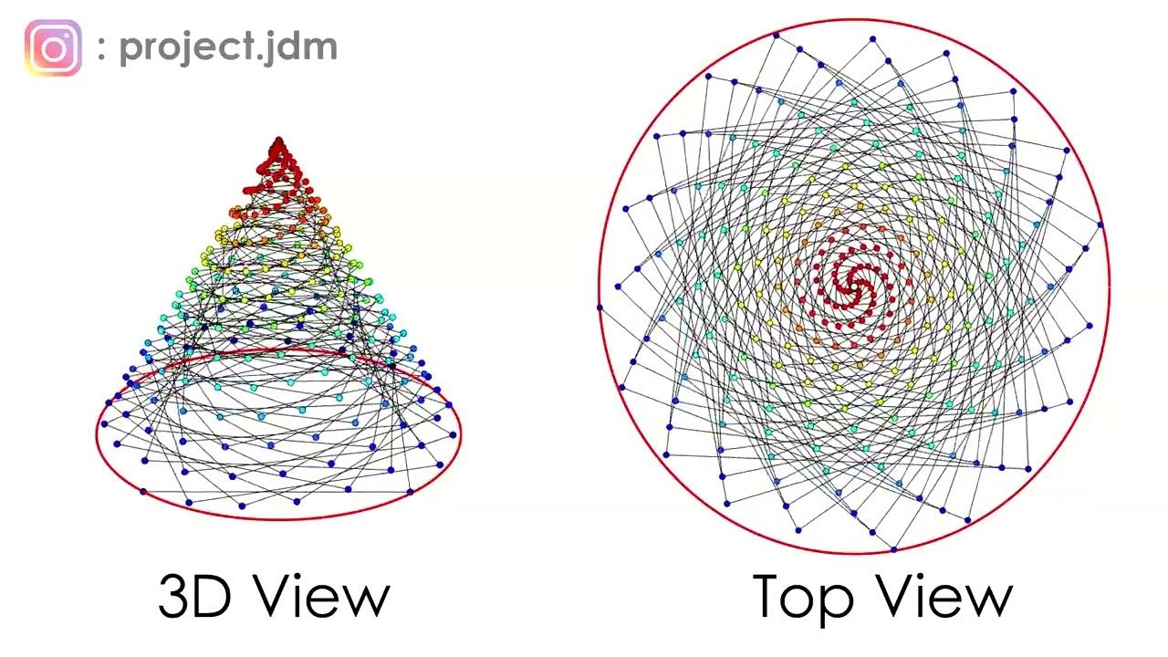 Pendulum Wave Animation with Sound!