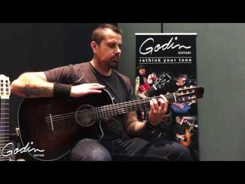 Ben Woods - Tremelo - La Patrie Guitars - Godin