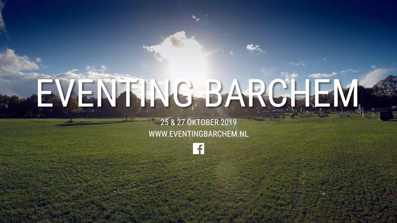Eventing Barchem - 25 & 27 oktober 2019