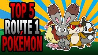 Route 1 Pokémon - Top 5 (Ace Trainer Liam)