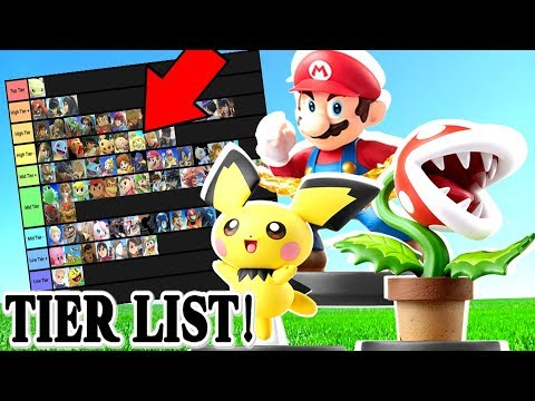 Smash Bros Ultimate Tier List.. But it's Based on AMIIBO! thumbnail