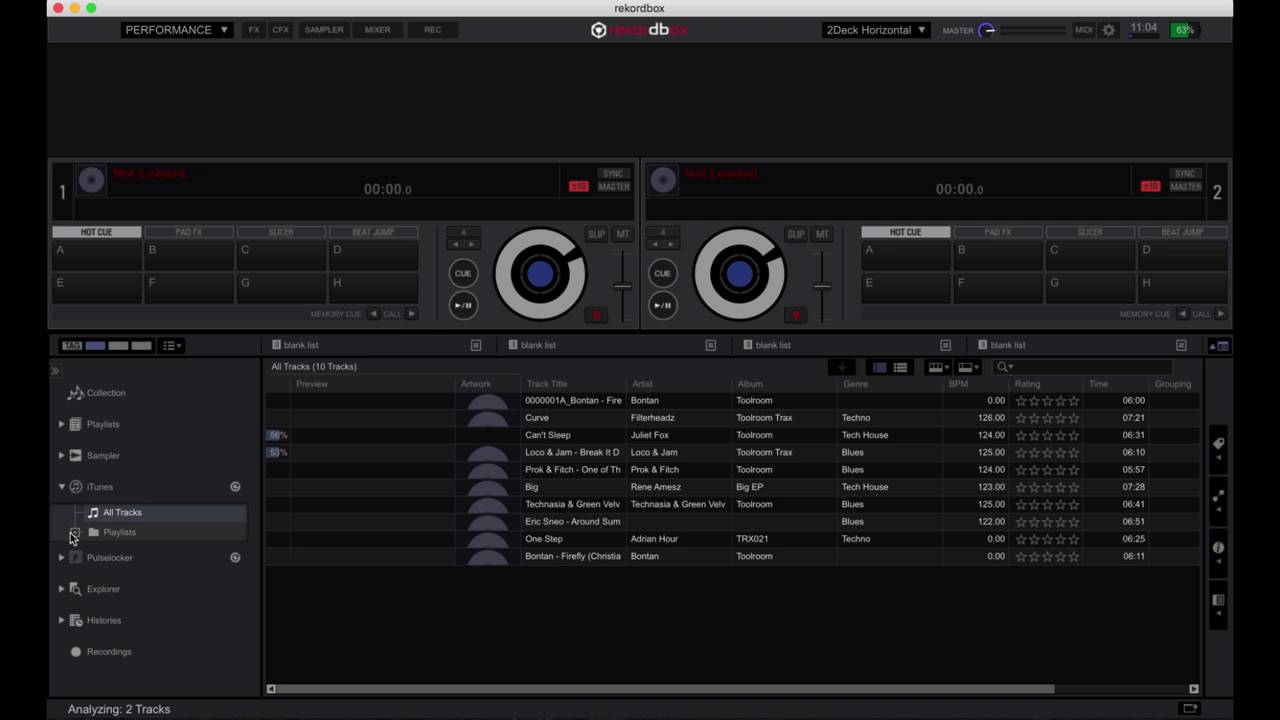 Rekordbox DJ Controller PIONEER - DDJ-RB Tutorial 1 Setting up and  importing your music