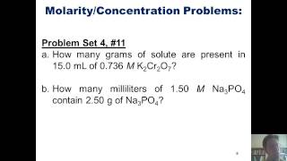Chapter 4 - Reactions in Aqueous Solution: Part 7 of 8