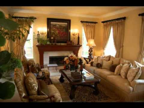 Tuscan living room ideas youtube - Pictures of living room designs ...