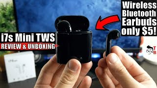 i7s Mini TWS REVIEW: The Cheapest Wireless Bluetooth Earbuds