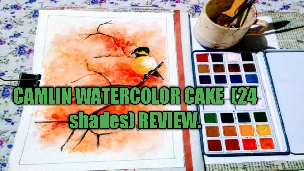 Camlin Artist Watercolor Cake 24 Shades Review Ad Creativity
