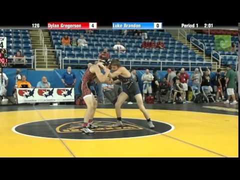 126 Dylan Gregerson vs. Luke Brandon