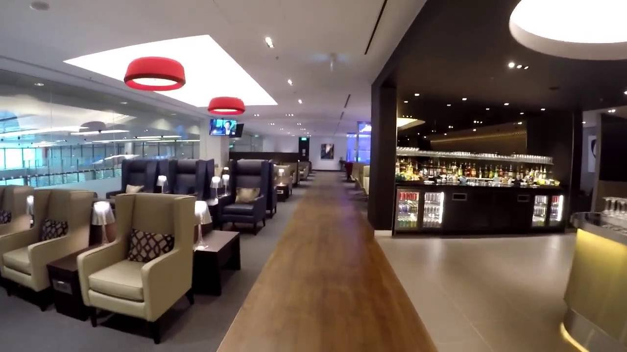 British Airways New Business And First Class Lounge At