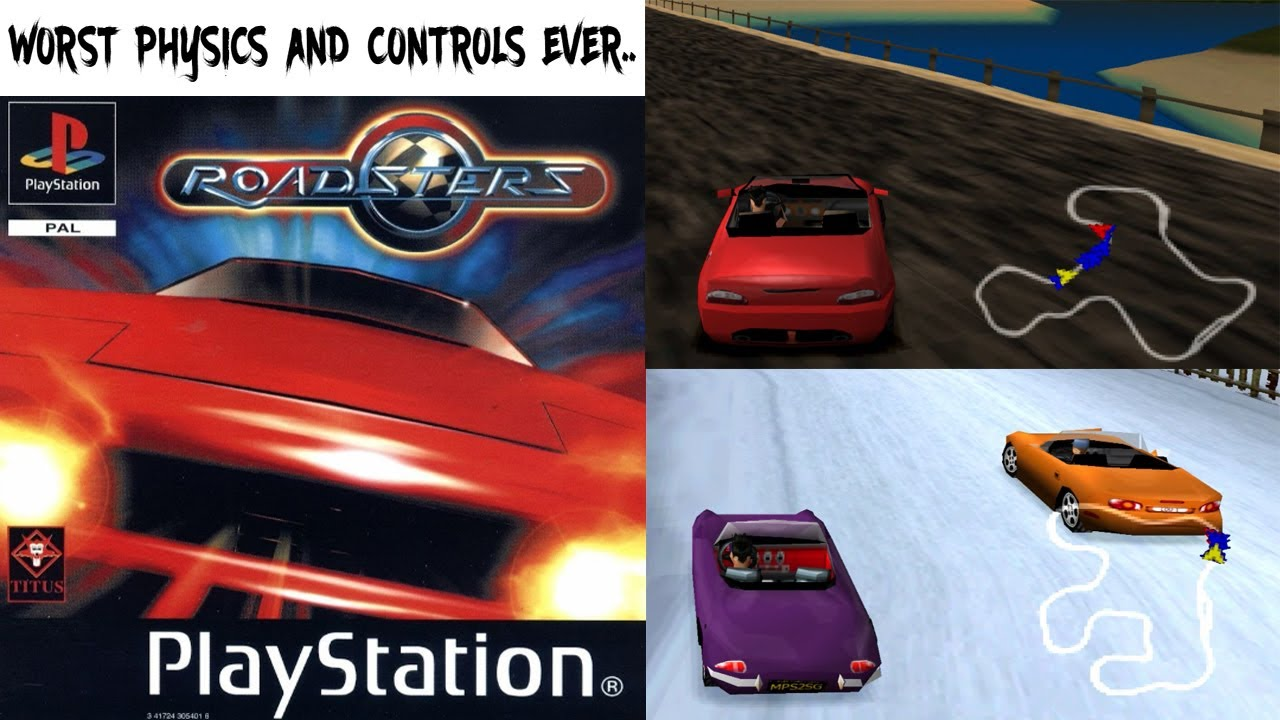 Roadsters PS1 ROM #25