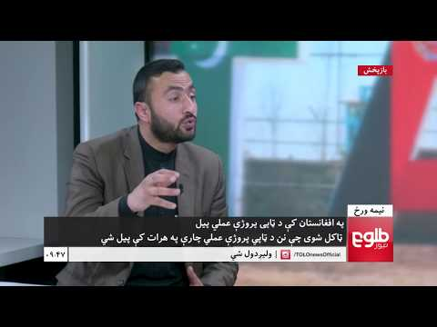 NIMA WARAZ: Work On TAPI Project Kicked Off In Herat