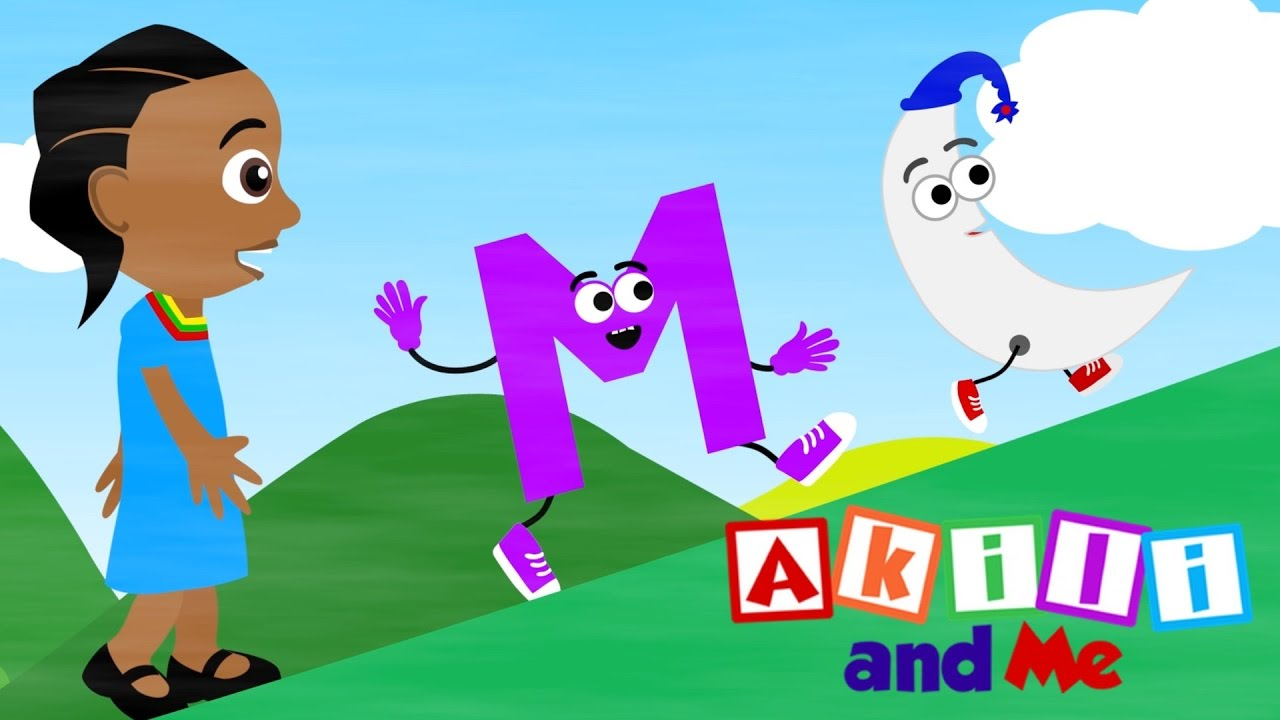 The Letter M Song | Educational phonics song from Akili and Me, the African Edu-Cartoon