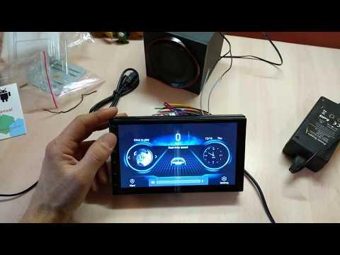 2din Магнитола на Android 9.1 Podofo за 43$