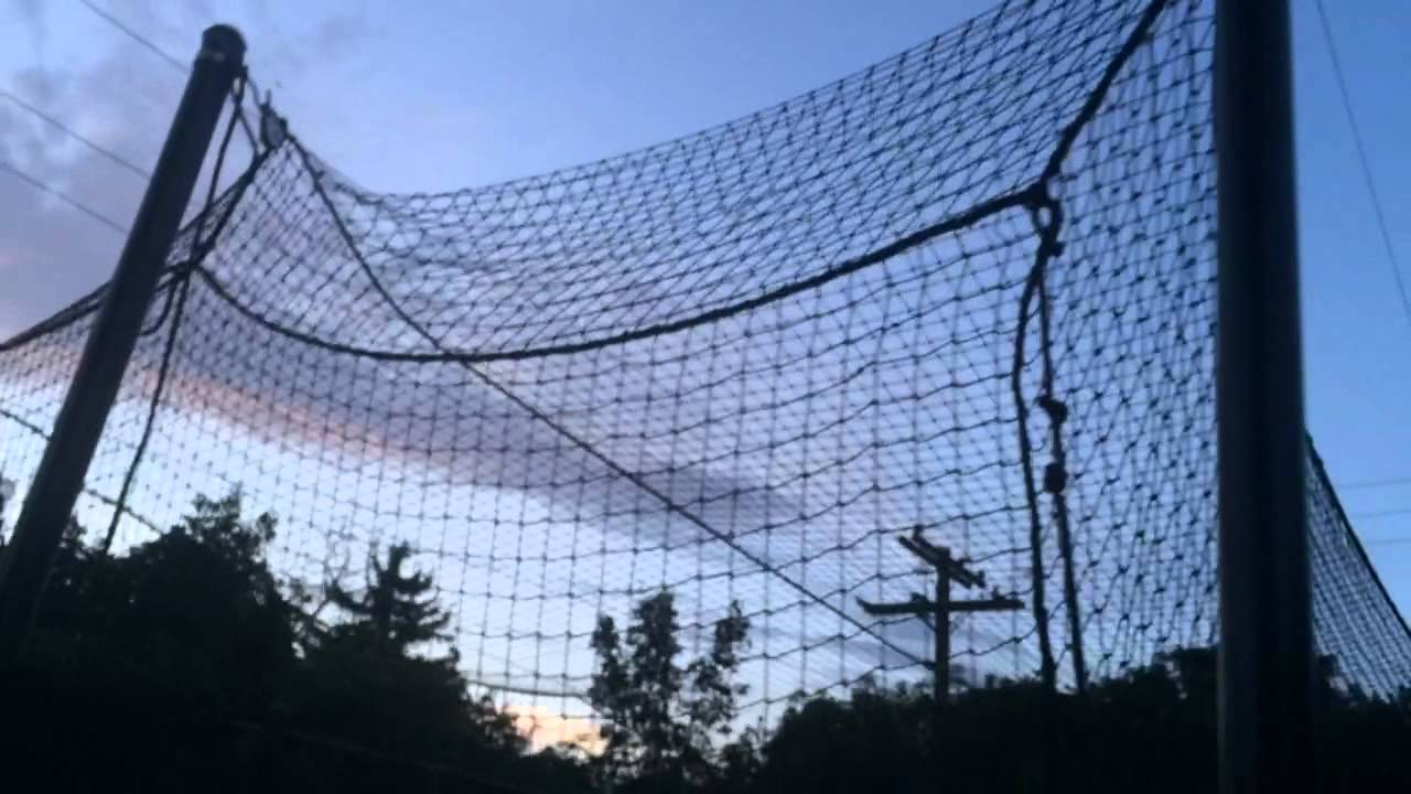 DIY Batting Cage Backyard Design