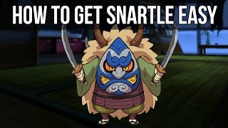 How to Get Snartle Easy in Yo-Kai Watch!