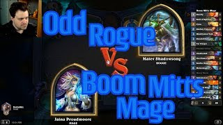 Elemental Hand Mage vs Odd Rogue - Hearthstone