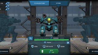 War Robots - Hover Bot Purchase on live Server!