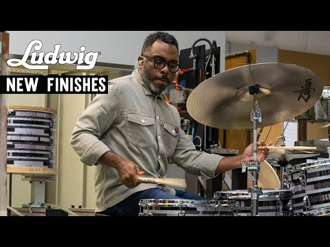 Ludwig Summer 2021 New Finishes featuring Nate Smith