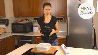 Pyszne śledzie w śmietanie. Przepis jak zrobić sos śmietanowy? Jak przygotować śledzie? MENU Dorotki