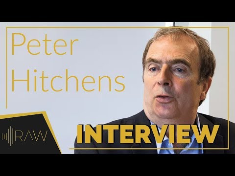 Peter Hitchens | RAW Interviews [RE-UPLOAD]