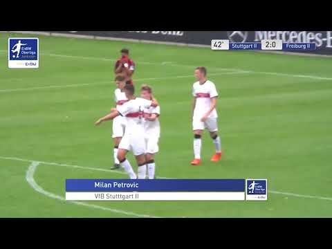B-Junioren - 2:0 - Milan Petrovic - VfB Stuttgart 2 gegen SC Freiburg 2