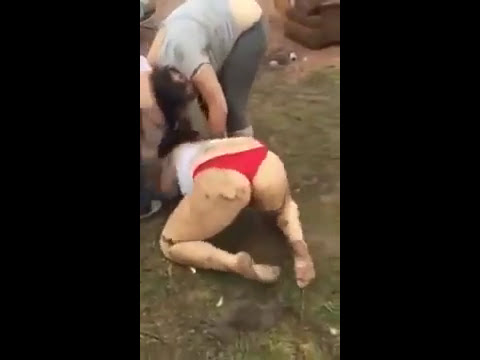 Naked fight girls
