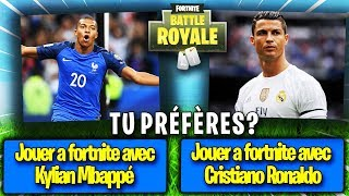 TU PRÉFÈRES ? VERSION FORTNITE !