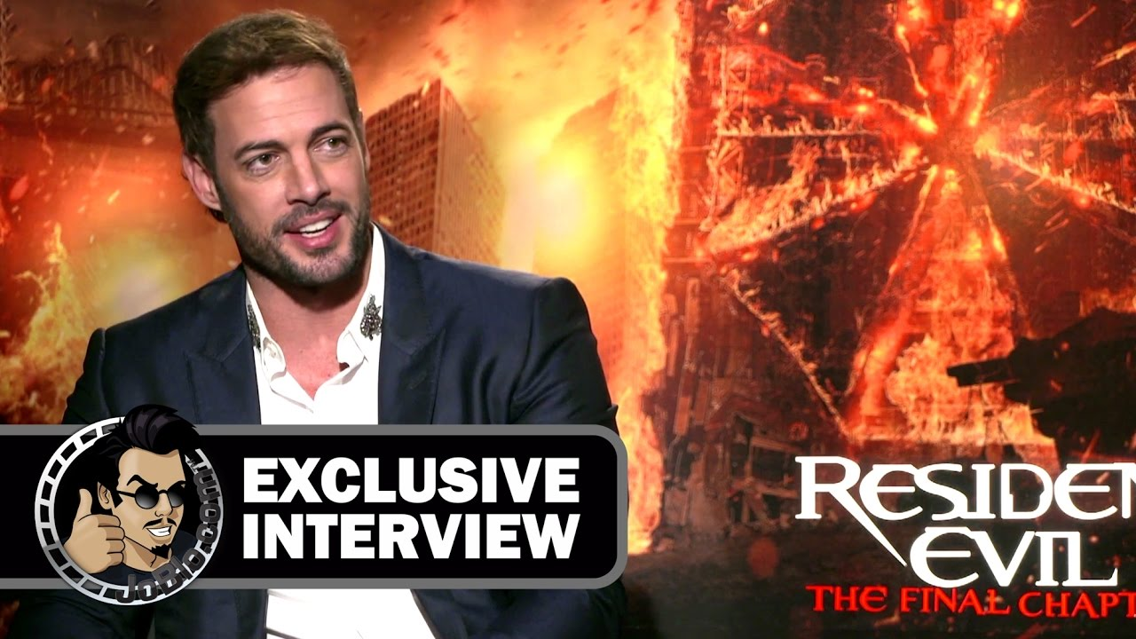Resident Evil The Final Chapter Interview: William Levy Exclusive RESIDENT EVIL: THE FINAL CHAPTER