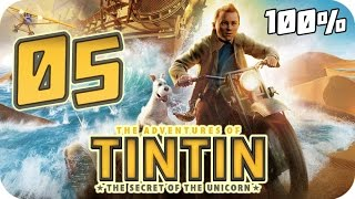 The Adventures of Tintin: The Game Walkthrough Part 5 (PS3, X360, Wii) 100% Movie Chapter 17 - 18