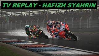 MotoGP 2018 MOD | Hafizh Syahrin | GP ARGENTINA | WET |  TV REPLAY GAME