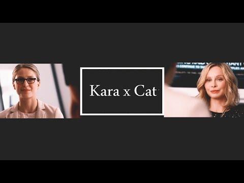 Kara Danvers || SuperCat S02E01 Supergirl || Cat Grant