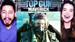 Top Gun Maverick  Tom Cruise  Trailer Reaction By Jaby Andamp Achara