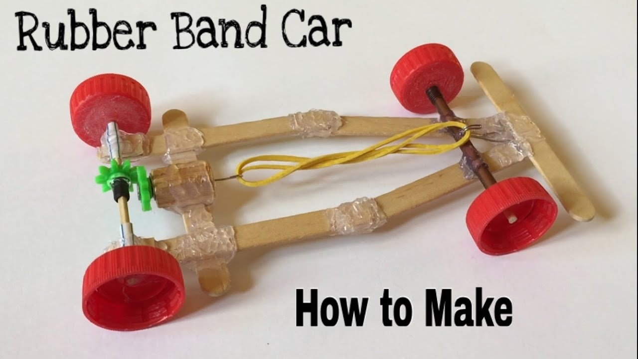 How To Build A Rubber Band Car 73