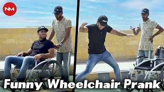 Wheelchair Prank | Hilarious Reactions | Nevermind