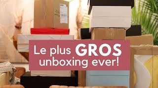Le plus GROS unboxing ever?! Coach - Urban Decay - Buxom - Givenchy