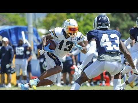 Chargers Vs. Rams FULL Scrimmage Highlights Day One | 2019 Training Camp