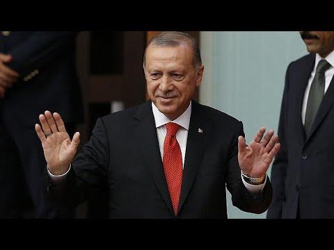 Erdogan toma posse como presidente da Turquia