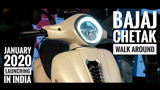 Bajaj Chetak 2019 price in India • colours • specifications • Best electric scooter in 2020