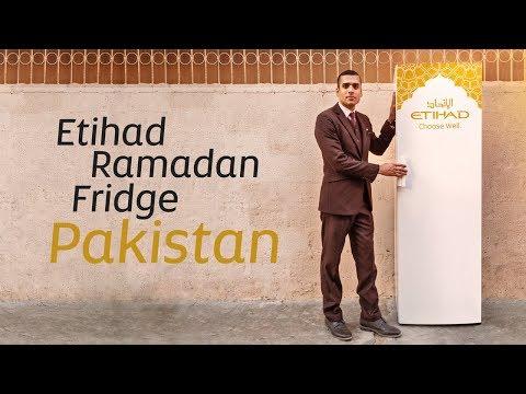 The Etihad Ramadan Fridge comes to Pakistan | Etihad Airways