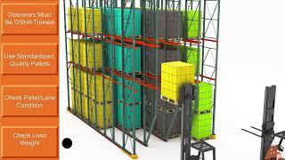 DriveIn Pallet Rack Operational Training Video   Apex Companies