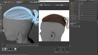 Rendering Ornatrix Hair in IPR mode with Redshift