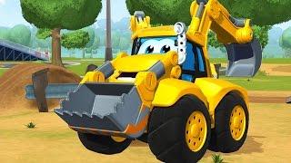 Мультики про машинки Чак и его друзья. Грузовики на природе. #Мультфильмы 3д для детей