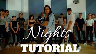 Nights by @SnowThaProduct DANCE TUTORIAL | @DanaAlexaNY Choreography
