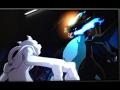 ⒽMega Charizrd X vs Mewtwo. ENGLISH. full battle HD ( pokemon the origins )