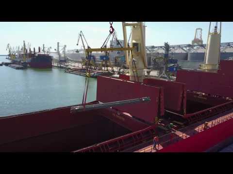 Umex Berth44 Handymax size 200.0m, vessel
