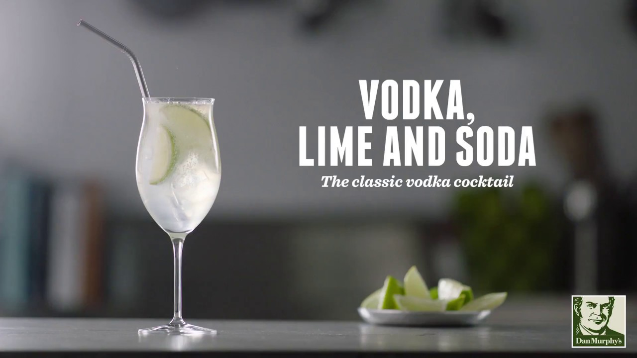 How to make a Vodka Lime And Soda | Cocktail Recipes
