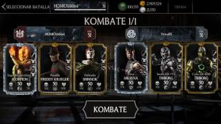 Mortal Kombat X Android - Consejos Anti Baneo - Freddy Krueger - Scorpion - Shinnok
