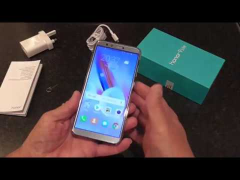 Huawei Honor 9 Lite UK Unboxing & Quick Overview