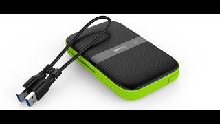 Unboxing Silicon Power A60 External HardDrive 1 TB A Prueba De Golpes Y Agua